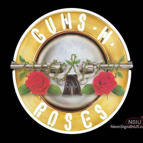 Custom Guns N Roses Ever Time Rock Band Neon Sign