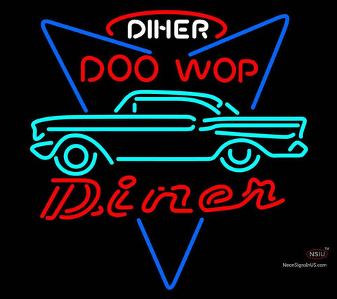 Custom Incredible 7 Chevy Doo Wop Diner Custom Neon Sign