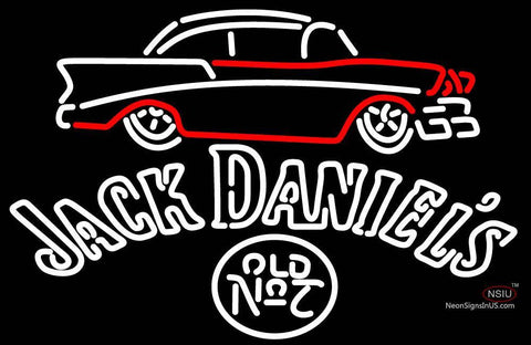 Jack Daniels 7 Chevy Neon Sign
