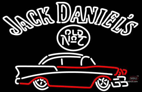 Jack Daniels with 7 Chevy Neon Sign