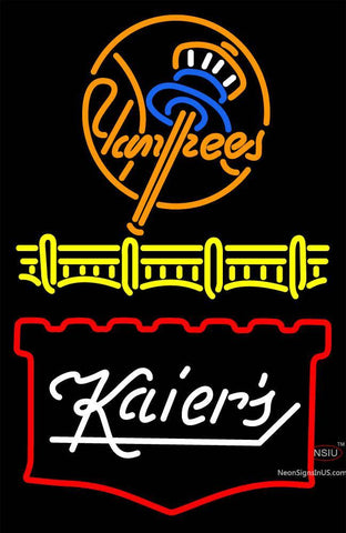 Custom Kaiers Beer logo Neon Sign