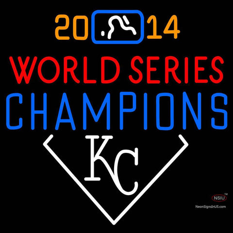 Custom Kansas City American League Champions Neon Sign