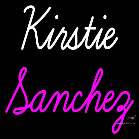 Custom Kirstie Sanchez Neon Sign