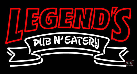 Custom Legends Pub N Eatery Neon Sign