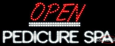 Custom Open Pedicure Spa Led Sign