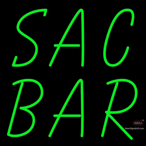 Custom Sac Bar Neon Sign