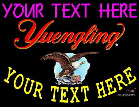 Custom Yuengling Neon Beer Sign 7