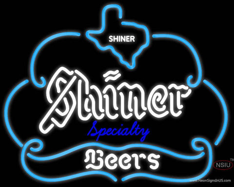 Example Of Shiner Specialty Of Texas Neon Beer Sign