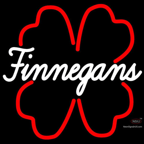 Finnegans And Clover Neon Sign x