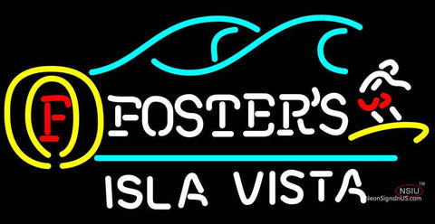 Fosters Surfer Isla Vista Neon Sign