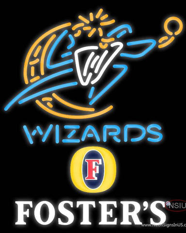 Fosters Washington Wizards NBA Neon Sign