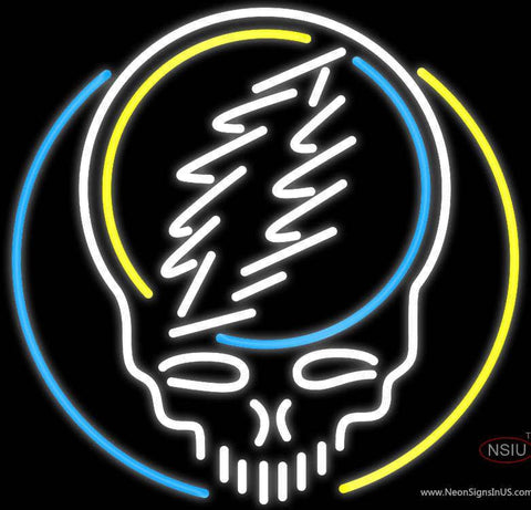 Grateful Dead Logo Rock Band Neon Sign