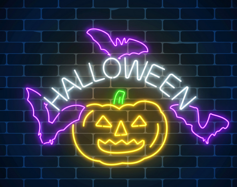 New Neon - Halloween Handmade Art Neon Sign