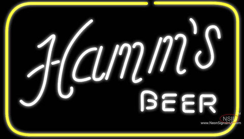 Hamms Square Neon Beer Sign
