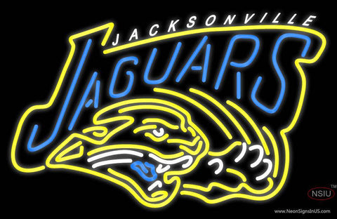 Jacksonville Jaguars Alternate   Logo NFL Neon Sign
