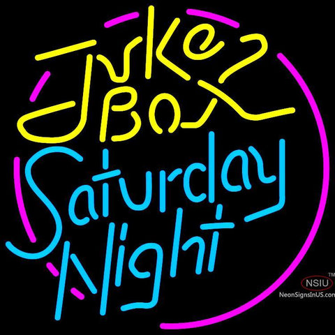 Juke Box Saturday Night Neon Sign x