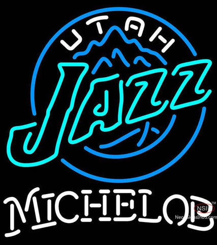 Michelob Utah Jazz NBA Neon Sign