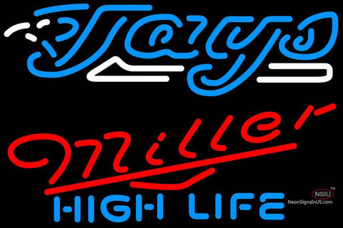 Miller High Life Toronto Blue Jays MLB Neon Sign  7