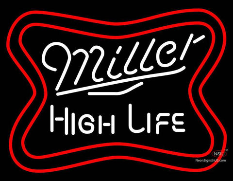 Miller High Life Word Neon Beer Sign