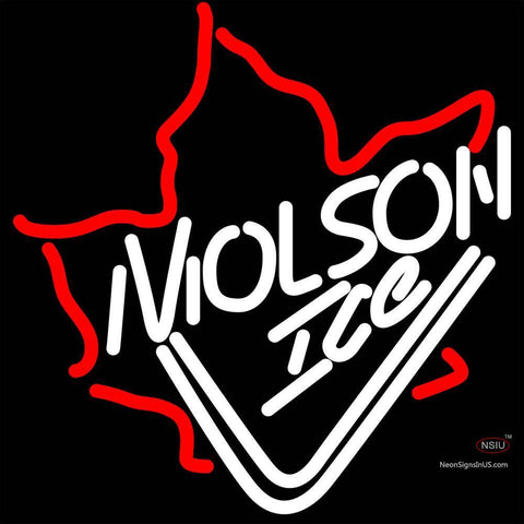 Molson Ice Mapleleaf Neon Beer Sign x