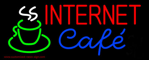 Internet Cafe Neon Sign