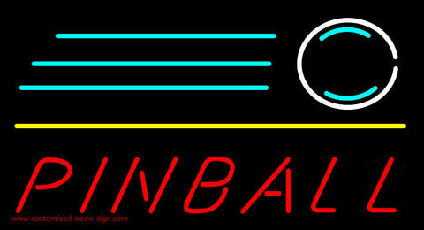 Pinball Shot Neon Sign