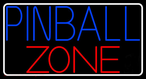 Pinball Zone 2 Neon Sign