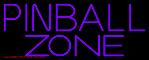 Pinball Zone 3 Neon Sign