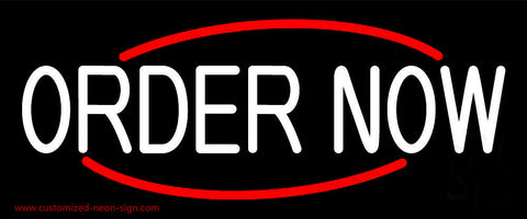 Order Now Neon Sign