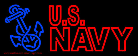 Us Navy Neon Sign