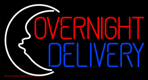 Overnight Delivery Neon Sign