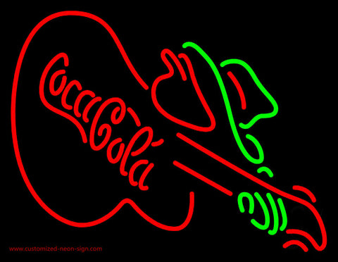 Coca Cola Green Neon Sign