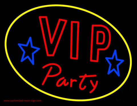 Vip Party Neon Sign