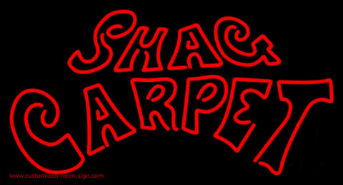 Shag Carpet Neon Sign