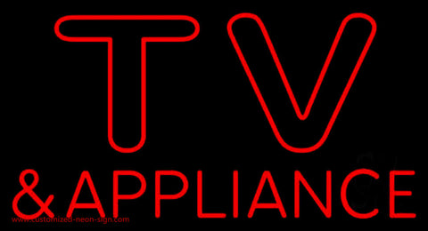 Tv And Appliance Neon Sign