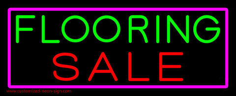 Flooring Sale Neon Sign