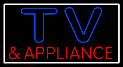 Tv And Appliance 1 Neon Sign