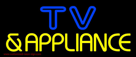 Tv And Appliance 3 Neon Sign
