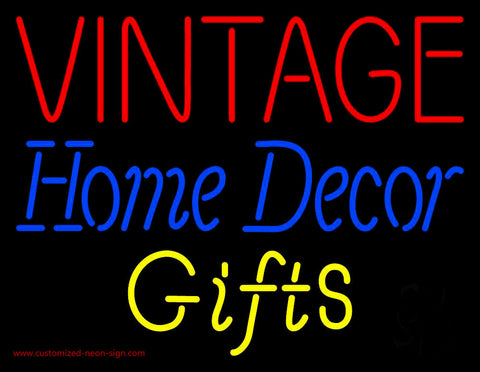 Vintage Home Decor Neon Sign