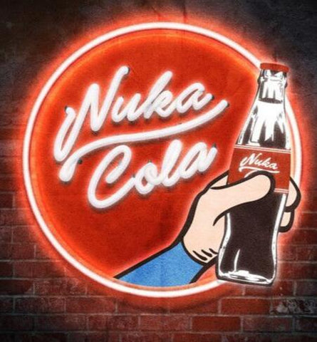 Nuka Cola Handmade Art Neon Sign