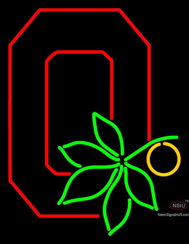 Ohio State Buckeyes Alternate  Pres Logo NCAA Neon Sign