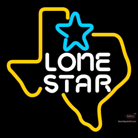 Lone Star Neon Beer Sign x