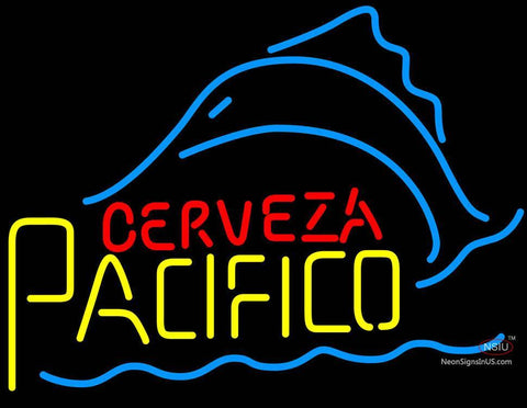 Cerveza Pacifico Sailfish Neon Beer Sign