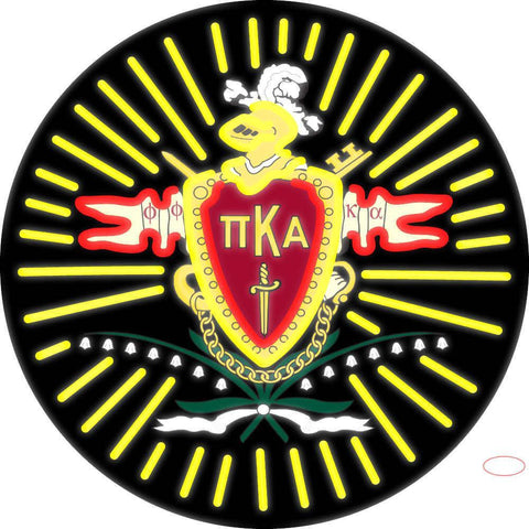 Pi Kappa Alpha Logo Neon Sign