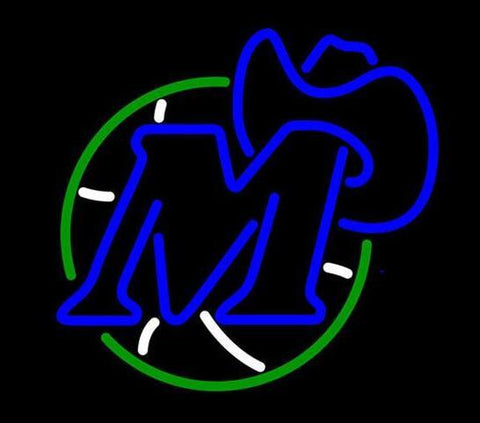 Dallas Mavericks Original Logo neon sign
