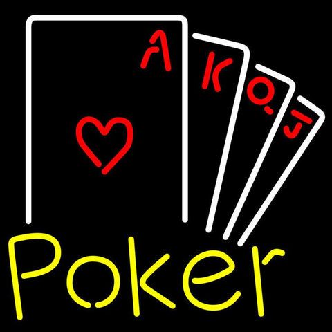 Poker Ace Series Neon Sign x