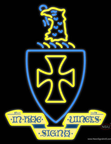 Sigma Chi Chapters Logo Neon Sign