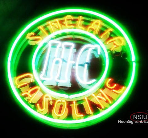 Sinclair Gasoline Neon Sign