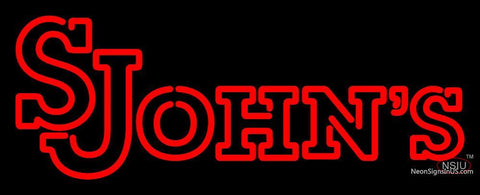 St Johns Red Storm Wordmark 7 Pres Logo Ncaa Neon Sign