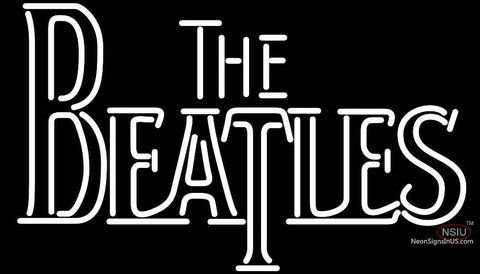 The Beatles Beer Bar Neon Sign